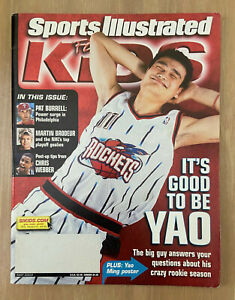 2003 SPORTS ILLUSTRATED FOR KIDS - LEBRON JAMES ROOKIE RC CARD