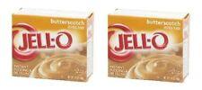 Jell-O Butterscotch Instant Pudding Dessert Mix 2 Box Pack