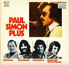 PAUL SIMON PLUS frankie Valli/four seasons/johnny rivers/neil sedaka LP PS EX/EX