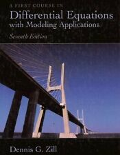 A First Course in Differential Equations with Modeling Applications 7th edition