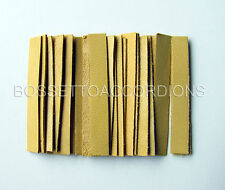 Accordion REED LEATHER LEATHERS VALVES SET OF 24 Size 2 Ventile für Akkordeons