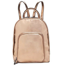Inc International Concepts $70 Pink Gold Metallic Farahh Backpack Shoulder Bag