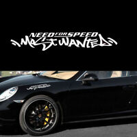 1pc White JDM Need For Speed Scratch Car Auto Windshield Decal Vinyl Sticker
