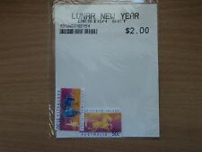 Australia Christmas Island 2003 Year of the Goat stamps 50c, $1.50 SG523-24 MNH