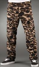 CARHARTT pantalon AVIATION PANT COLUMBIA Camo Isle W34L32 Rinsed