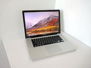 "Apple MacBook PRO 15"" QUAD CORE I7 2.0Ghz 1TB HDD 8GB MC721LL/A High Sierra"