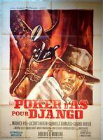 Plakat Kino Western Poker D'As Für Django - 120 X 160 CM