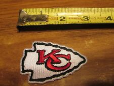KANSAS CITY CHIEFS  2.5 INCH SWEET PATCH IRON ON
