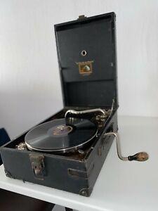 Gramophone valise La Voix de son Maitre