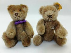 S03 alte Steiff Bären Bärenbrüder Kuscheltiere Sammler Teddybär