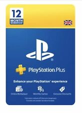 Sony PlayStation Plus PS+ 12 Months Membership ✅ Free 1st Class Delivery 🚚