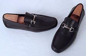 Salvatore Ferragamo 'Plum' Driving Loafer- Brown- Size 9.5 EE $540 (J20)