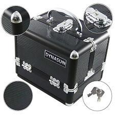 DynaSun BS35 Schwarz Designer Beautycase Kosmetikkoffer Schmuckfach Beauty Case
