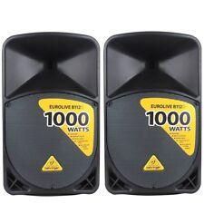BEHRINGER EUROLIVE B112D coppia casse speaker diffusori amplificati 1000 watt