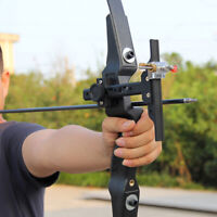Archery Recurve Bow Sight Arrow Adjustable Beginner Accessories Hunting Shooting