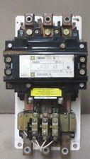 SQUARE D STARTER NEMA SIZE 5 - 3 PHASE 120V COIL 600 VAC 200 HP MODEL 8536SG01S