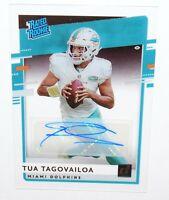 TUA TAGOVAILOA Autograph - 2020 Panini Chronicles Donruss Rated Rookie Clearly