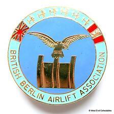 British Berlin Airlift Association - Royal Air Force RAF Enamel Brooch Badge
