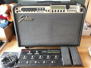 Johnson Millenium JM-150 2x12 Stereo Combo Guitar Amplifier plus foot control