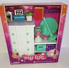 """My Life As 18"""" Doll Bedroom Furniture Accessory Play Set Lamp Lights Up New"""