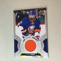 F50073  2017-18 Upper Deck Game Jerseys Nick Leddy Rangers