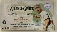 2020 Topps Allen Ginter бейсбол & заводской упаковке хобби коробка 3 хитов! | 1 коробка