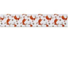 Reindeer Christmas cute kawaii kitsch grosgrain ribbon