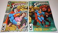 Adventures of Superman 514 537 Comic LOT DC Universe VARIANT Parasite Lex Luthor