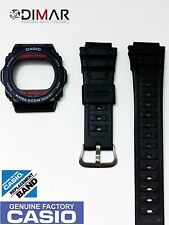 VINTAGE CASIO BEZEL AND BAND FOR DW-5700-C / DW-5400-C  ORIGINAL CASIO NOS