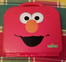 Elmo On The Go ABC Alphabet Letters Red Carrying Case Sesame Street Complete