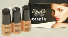 LUMINESS AIR - Airbrush Makeup 3 pc FAIR Shade #3 #4 #5 MATTE Foundation SET NEW