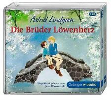 + Lindgren Astrid : Die Brüder Löwenherz 5er CD HörBuch NEU Ungek Jens Wawrczeck