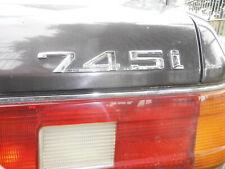 BMW 745i E23 Büffelleder