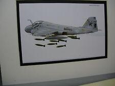 Grumman A 6E Intruder Model Airplane Box Top Art Color artist