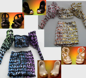 Rainbow High Twins ~ Laurel & Holly DeVious ~ doll clothes, Shoes, Handbag