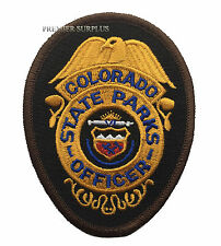 Genuine US Police Cloth Patch Badge