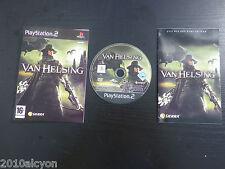 JEU Sony PLAYSTATION 2, PS2 : VAN HELSING (Sierra COMPLET envoi suivi)