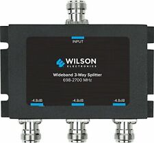 859980 Wilson Electronics -4.8 dB 3-Way Splitter, N-Female (50 Ohm)