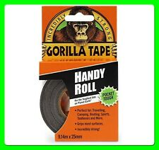 Black Cloth Tape 25 mm X 9 m [3044401] Handy Roll Gorilla Glue Tape