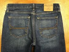 HOLLISTER CLASSIC STRAIGHT JEANS HAND MEASURED 34 x 33 Tag 31 x 32 BEST H69