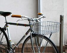 """New Wald USA Front Bicycle Basket (18"""" x 13"""" x 6"""" deep, Silver) Nice Med/Lg Size"""