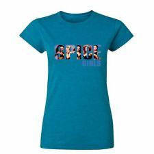 Girls Uk Tour Blue  Womens T Shirts