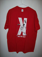 MLB CHICAGO WHITE SOX K ZONE FOR CHRIS SALE T-SHIRT MENS XL GUC