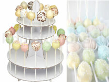 White Cardboard Cake & Cupcake Stands