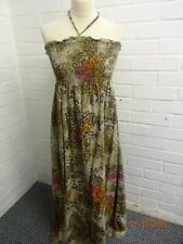 Long Cotton Halterneck Sundress From George Size 14