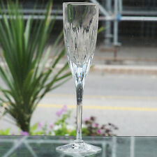 """KENT FLUTE CHAMPAGNE 9"""" tall STUART Hand Cut made in England NEW NEVER USED"""
