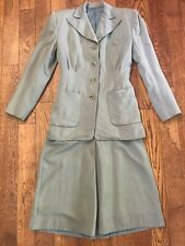 Vintage 40's Skirt Suit Home-made Outfit - Small