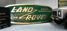 Land Rover Defender Laiton Bronze Grille Tub Héritage Panneau Avant Badge