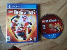 Disney Pixar Lego The Incredibles. PlayStation 4. Complete. Free Shipping