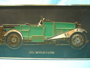 Wall Plaques X 2: Collectable Classic Cars.